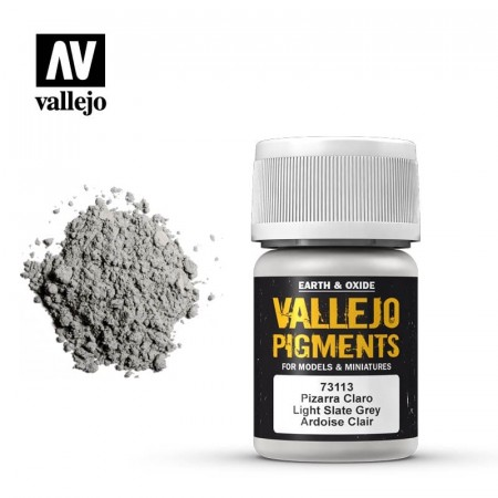 Vallejo Pigments Light Slate Grey 35ml