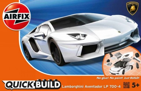 Airfix QUICK BUILD Lamborghini Aventador LP 700-4