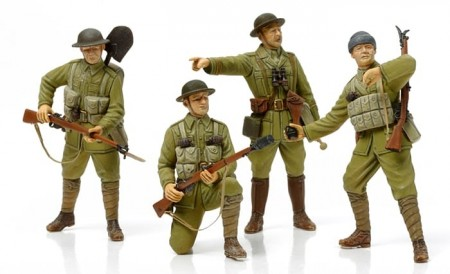 Tamiya 1/35 WWI British Infantry w/Small Arms and Equipment