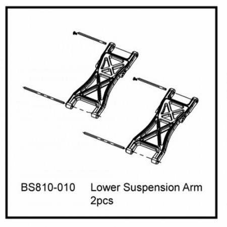 810-010 BSD LOWER SUSPENSION ARM