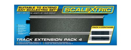 Scalextric Track Extension Pack 4