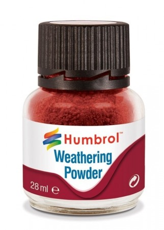Humbrol Weathering Powder - Iron Oxide 28ml