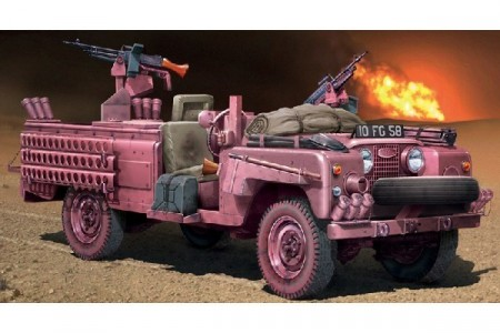 Italeri 1/35 S.A.S Recon Vehicle Pink Panther