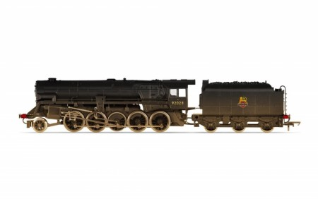 Hornby BR, Crosti Boiler 9F Class, 2-10-0, 92028 - Era 4 (Heavily Weathered)