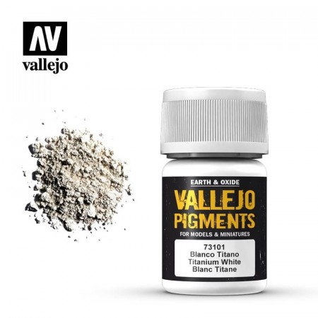 Vallejo Pigments Titanium White 35ml