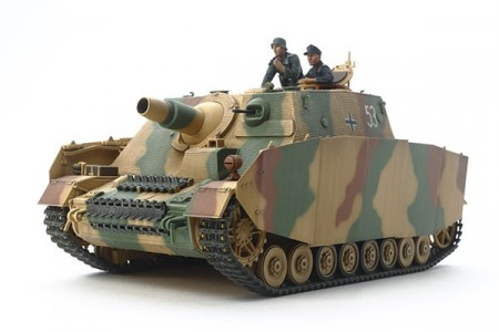 Tamiya 1/35 German Assualt Tank IV Brummbar Late Production
