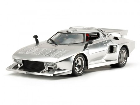 Tamiya 1/24 Lancia Stratos Turbo (Silver Color Plated)
