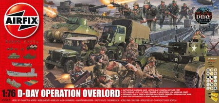 Airfix Gavesett 1/72 D-Day Operation Overlord A50162