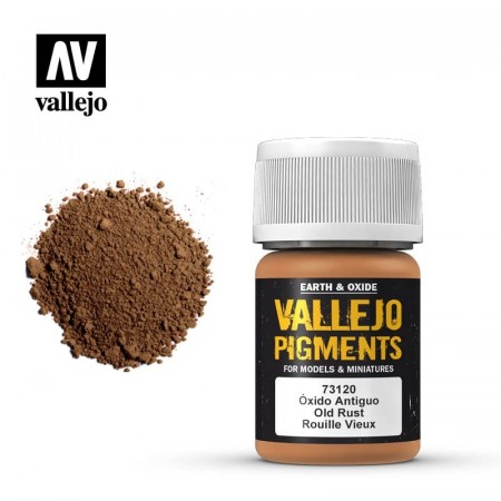 Vallejo Pigments Old Rust 35ml