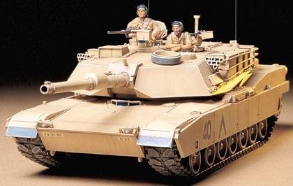Tamiya 1/35 U.S M1A1 Abrams 120mm Gun Main Battle Tank