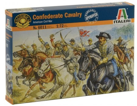 Italeri 1/72 Confederate Cavalry American Civil War 6011