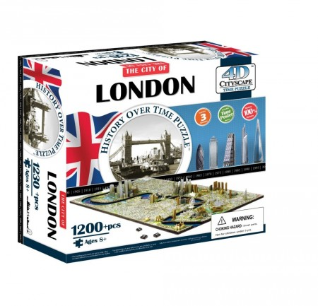 4D Cityscape Puslespill London England