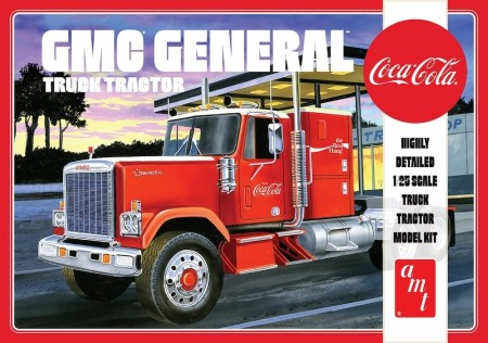 AMT 1/25 GMC General Semi Tractor Coca-Cola 1976