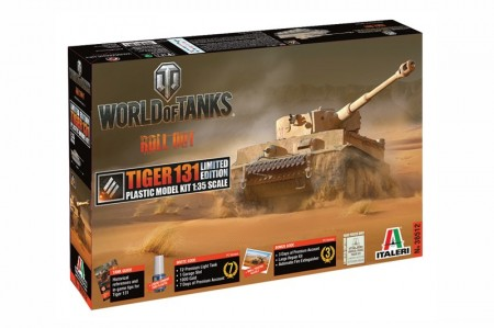 Italeri 1/35 World of Tanks Roll out Tiger 131 Limited Edition m/Lim