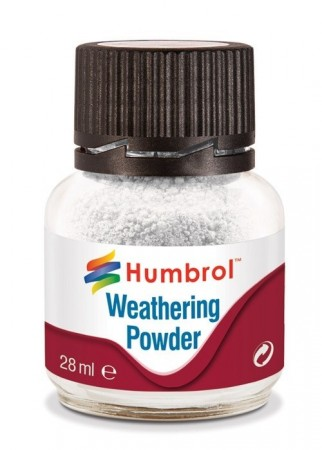 Humbrol Weathering Powder - White 28ml