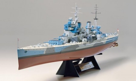 Tamiya 1/350 British Battleship HMS King George V 78010