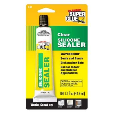 Clear Silicone Sealer 44.3ml T-HC