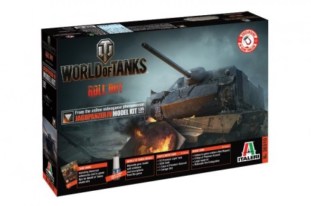 Italeri 1/35 World of Tanks Roll out Jagdpanzer IV m/Lim