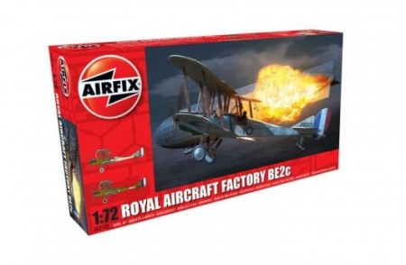 Airfix 1/72 Royal Aircraft Factory BE2c - Night Fighter