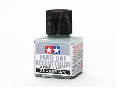 Tamiya Panel Line Accent Color Light Grey 40ml