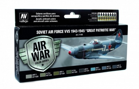 Vallejo Model Air Soviet Air Force VVS 1943-1945 Great Patriotic War