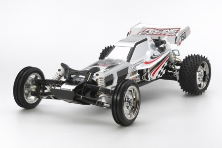 Tamiya RC byggesett 1/10 Racing Fighter Chrome Metallic (DT-03)