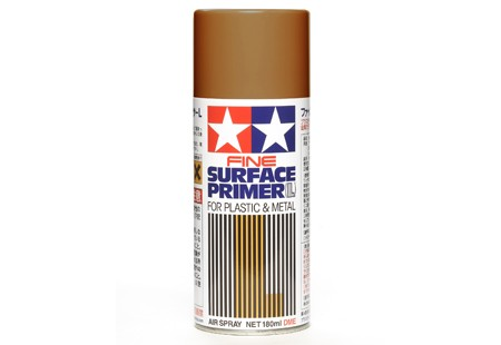 Tamiya Sprayboks Surface Primer Oxide Red - 180ml
