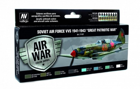 Vallejo Model Air Soviet Air Force VVS 1941-1943 Great Patriotic War