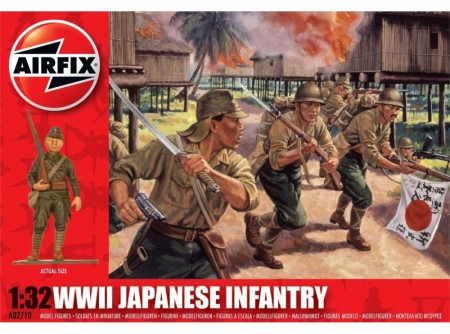 Airfix Infanterisett 1/32 WWII Japanese Infantry A02710