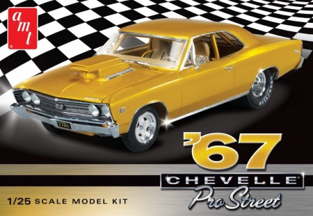 AMT 1/25 Chevy Chevelle Pro Street 1967