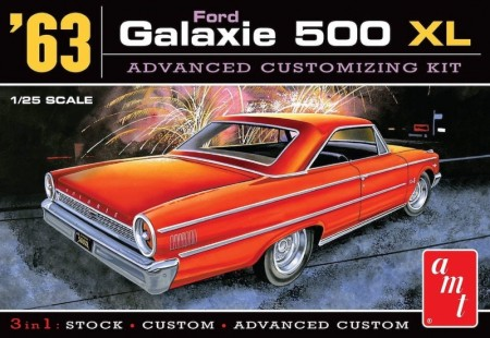 AMT 1/25 Ford Galaxie 500 XL 1963