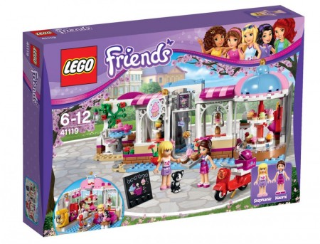 Lego Friends Heartlakes Cupkake-kafé 41119