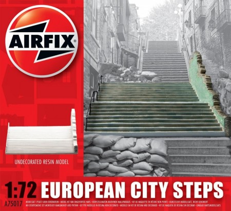 Airfix byggesett 1/72 European City Steps A75017