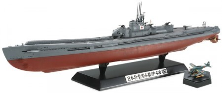 Tamiya 1/350 Japanese Navy Submarine I-400 78019