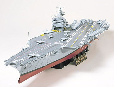 Tamiya 1/350 U.S Aircraft Carrier CVN-65 Enterprise 78007