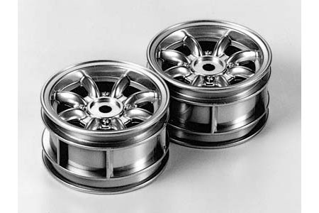 50676 Tamiya M-Chassis 8-Spoke Wheels (2stk.)