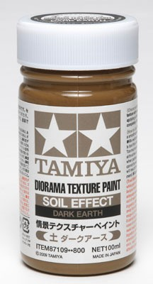 Tamiya Diorama Texture Paint Soil Effect Dark Earth