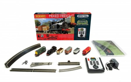 Hornby Togbanesett Digital Mixed Freight Trains (2stk. Digital tog)