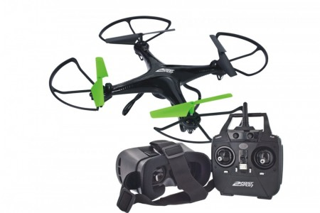 2Fast2Fun Focus Reality Drone FPV m/VR Headsett