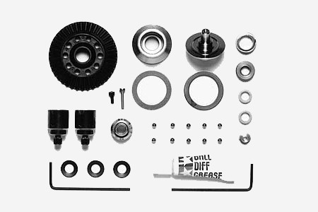 53663 TT-01, TGS Ball Differential Set