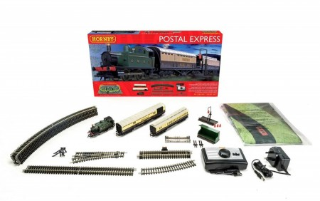Hornby Togbanesett Postal Express Train