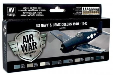 Vallejo Model Air US Navy and USMC Colors 1940-1945