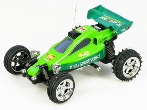 Top Racing Radiostyrt mikrobil 1/52 Super Rodeo Kart Racer RTR