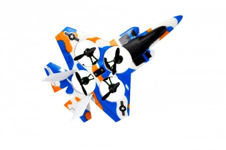2Fast2Fun RC Drone/fly QuadroJet