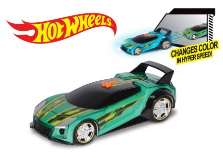 Hot Wheels Hyper Racer Quick N´Sik m/Lyd og Lys