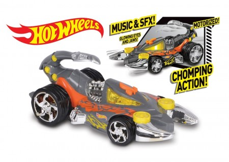 Hot Wheels Extreme Action Scorpedo m/Lyd og Lys
