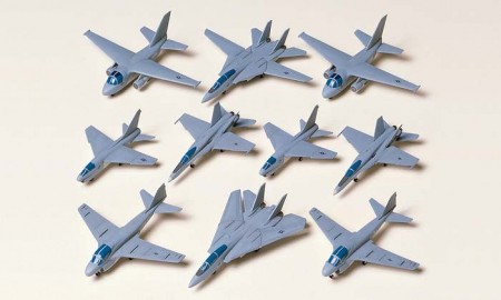 Tamiya 1/350 US Navy Modern Aircraft Set 1 78006