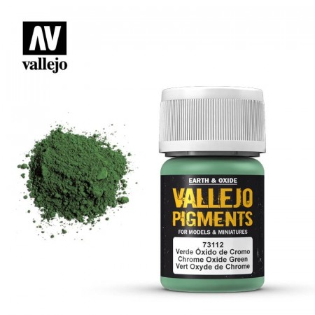 Vallejo Pigments Chrome Oxide Green 35ml