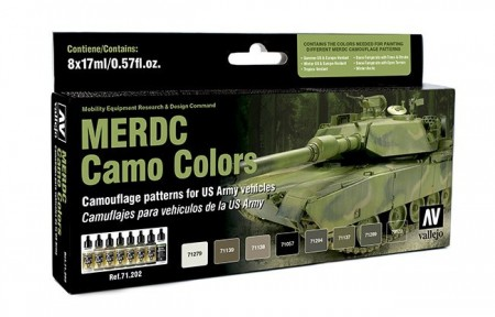 Vallejo Model Air Merdc Camo Colors (US Army)