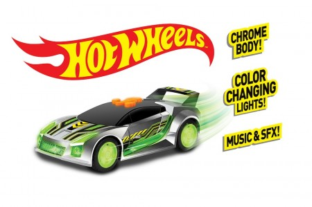 Hot Wheels Edge Glow Cruisers Quick N´Sik